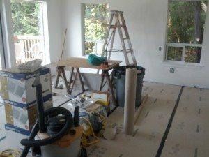 Salt Spring construction